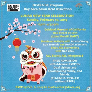 BAADA at OMCA for Lunar New Year Celebration