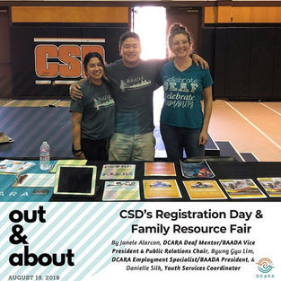 CSD's Registration Day & Family Resource Fair