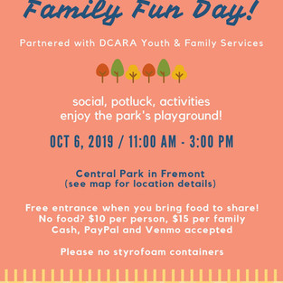BAADA Event: Fall Family Fun Day