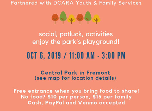 BAADA Event: Fall Family Fun Day
