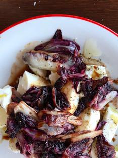 Balsamic radichio & mozerella