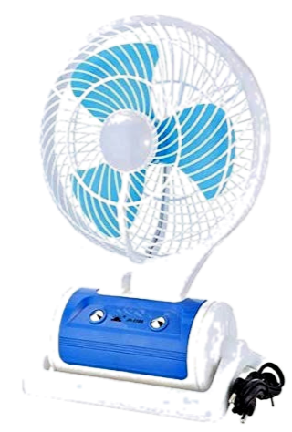 Rechargeable  Portable Fan With Led Light