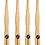 Thumbnail: Eco-Friendly Bamboo Toothbrush Pack of 4