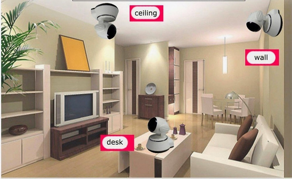 WiFi Wireless CCTV  HD  Camera