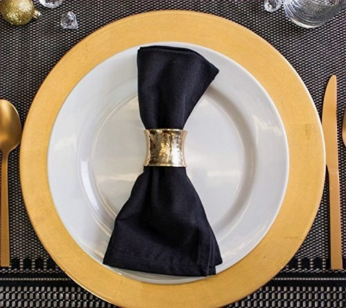 Dining Table Napkin Rings Set of 6