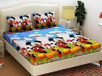 Warm Bedsheet For Kids With Pillow Cover