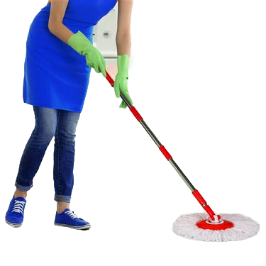 Magic Spin Mop With Bucket