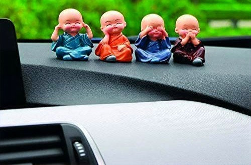 Decorative showpiece  Monk Buddha Set of 4