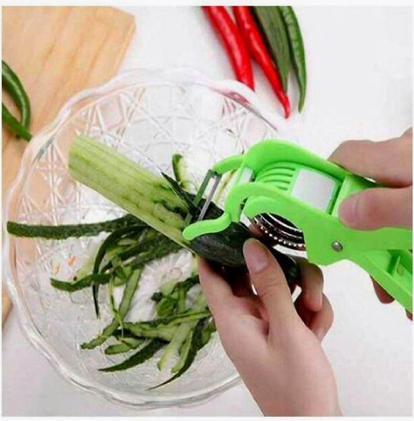 2 in 1 Vegetable & Fruit Cutter & Peeler