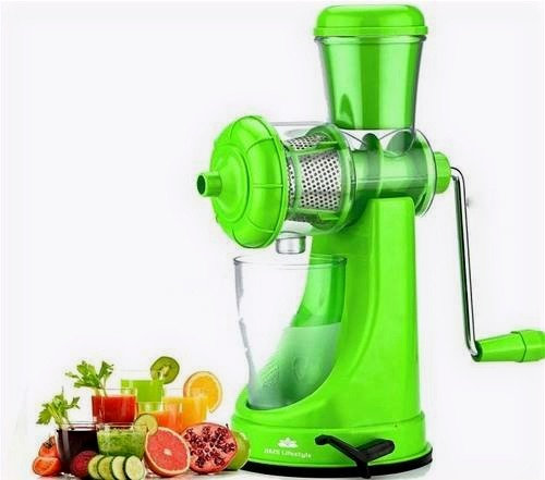 Manual Hand Fruit and Vegetable Juicer with Waste Collector