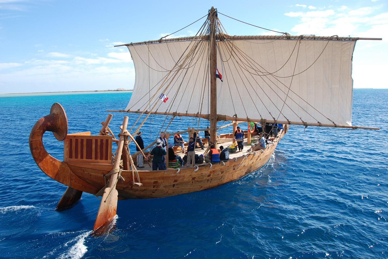 Quand les égyptiens naviguaient sur