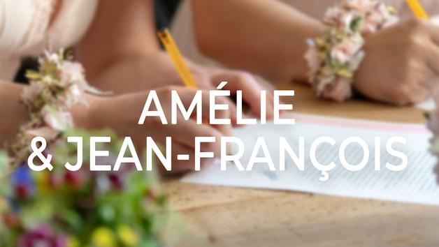 Amélie & Jean-François