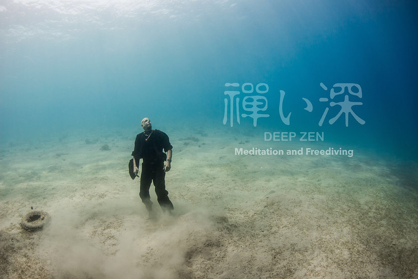 Deep Zen Meditation and Freediving with the zen monk Kosho Loic Vuillemin