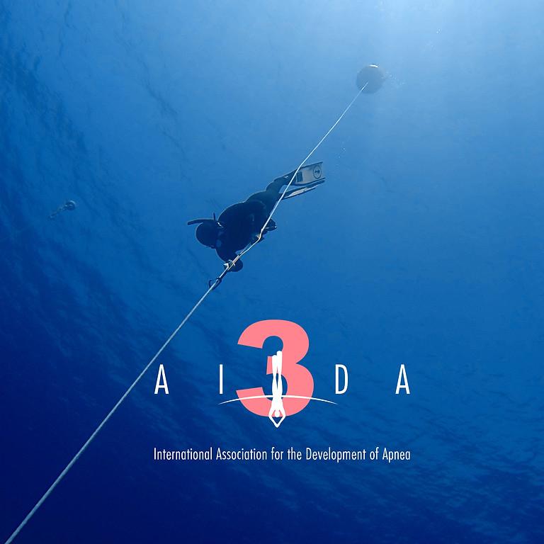 FREEDIVING COURSE - AIDA 3 in Sharm el Sheikh