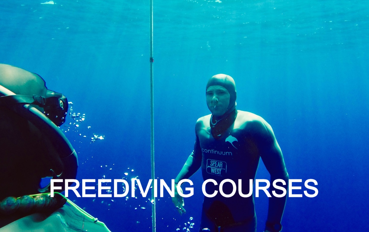 freediving courses with deep zen and the zen monk Kosho Loic Vuillemin