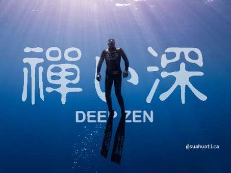 To the door of Abyss : freediving competition season of the deepest zen monk Kosho Loïc Vuillemin