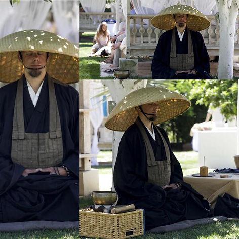 practice meditation with zen monk and freedive instructor loic kosho Vuillemin in Sharm el Sheikh