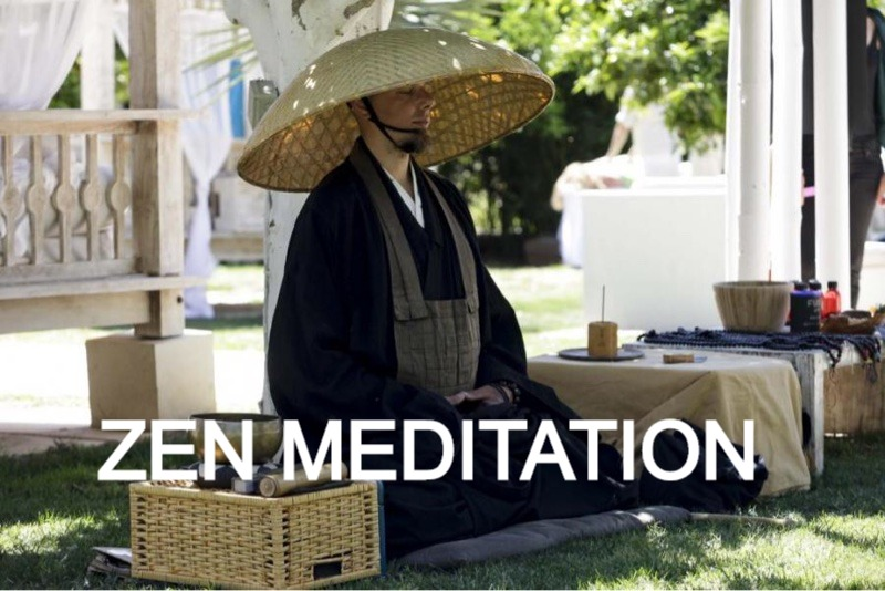 learn zen meditation with deep zen and the zen monk Kosho