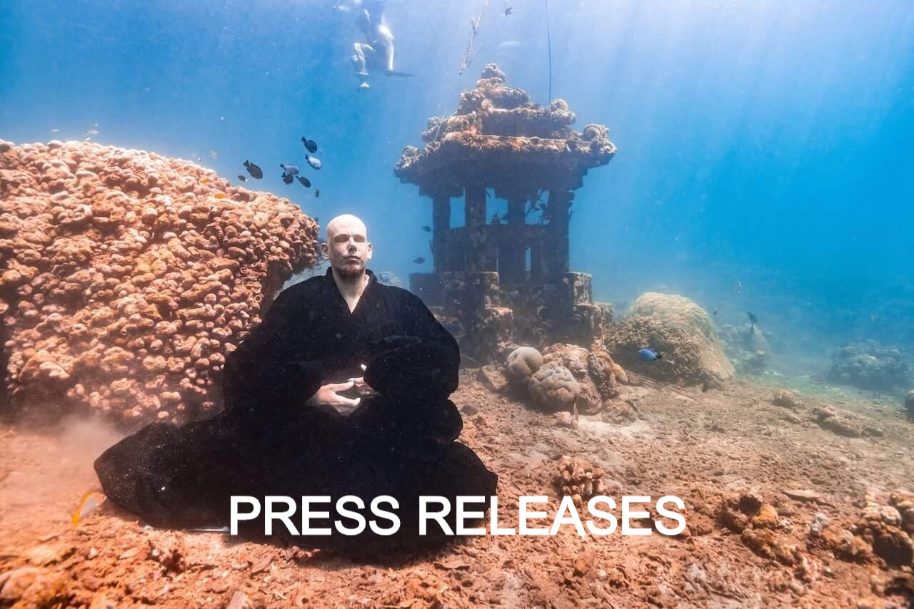 deep zen and the zen monk Kosho Loic Vuillemin are features in the press news