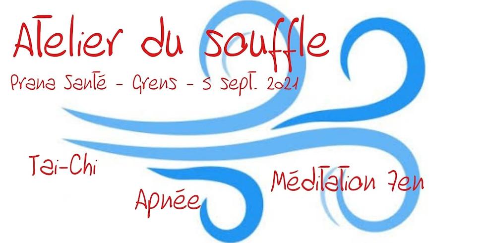 Atelier du Souffle: Tai-Chi, Méditation Zen, Apnée