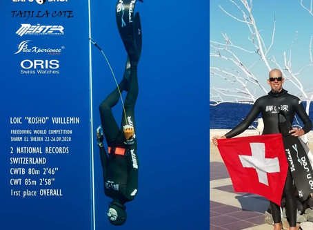 Flashback on Sharm el Sheikh Freediving World Competition - 22-26 sept. 2020 - Covid19 edition