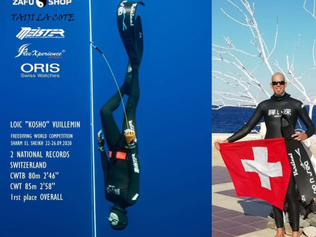 Flashback on Sharm el Sheikh Freediving World Competition - 22-26 sept. 2020 - Covid19 edition