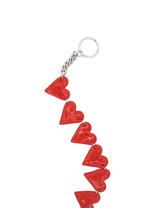 Accesorio bolso corazones
