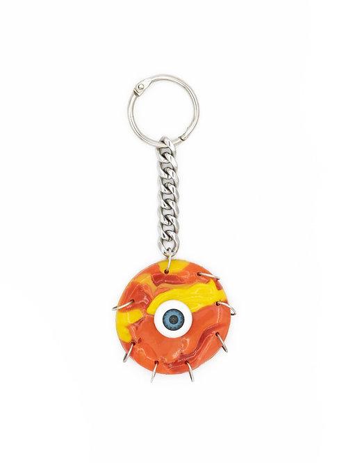 Llavero ojo naranja