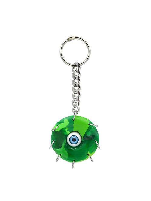 Llavero ojo verde