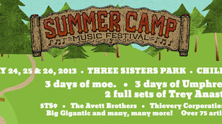 Start Your Summer Off The Right Way at Summer Camp Music Festival