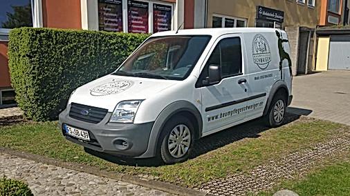 Klassische Fahrzeugbeschriftung