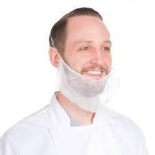 Beard Cover -PPE Barrier Protection