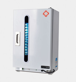 UV Sterilizer Cabinet + Overshoe Dispenser