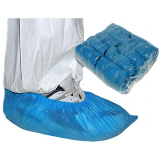Disposable Shoe Covers - Overshoes Blue