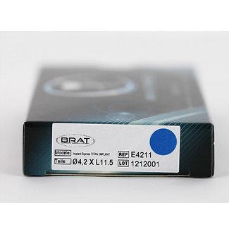 IMPLANT EXPRESS Ø 4,2mmD X L11,5 mm