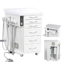 INTERGRATED MOBILE DENTAL UNIT-NEW 14L TANK SIZE