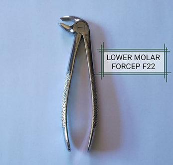 FORCEPS LOWER MOLAR F22