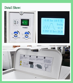 Magnifident Inspired CLASS B Autoclave 23L