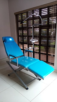 PORTABLE DENTAL CHAIR -Includes Lamp