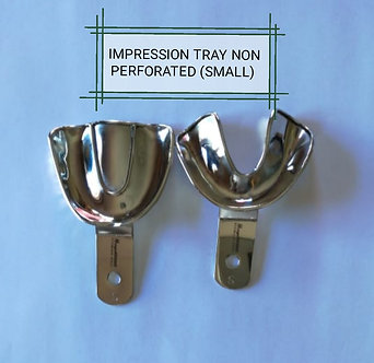 IMPRESSION TRAYS DENTURE NON PERFORATED - SMALL