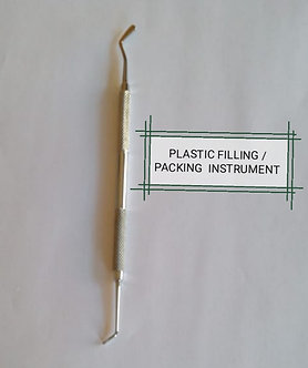 HAND INSTRUMENT - PACKING AND FLAT PLASTIC