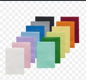 Patient Bibs, various colours pack of 50