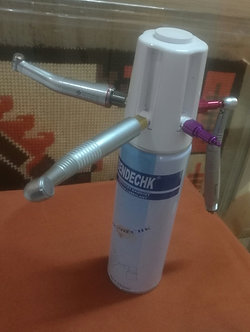 Handpiece oil adaptor and 1 x 550ml oil