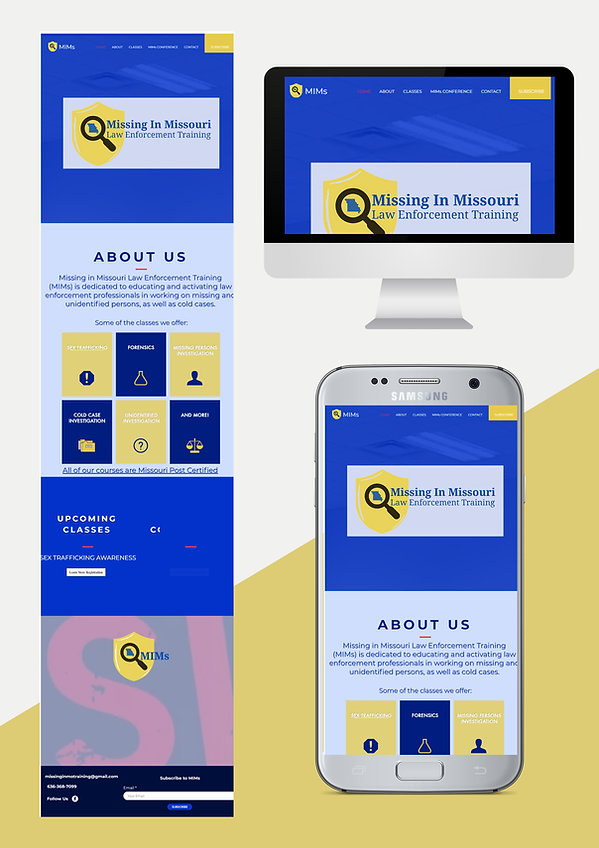 website design web design for law enforcement training