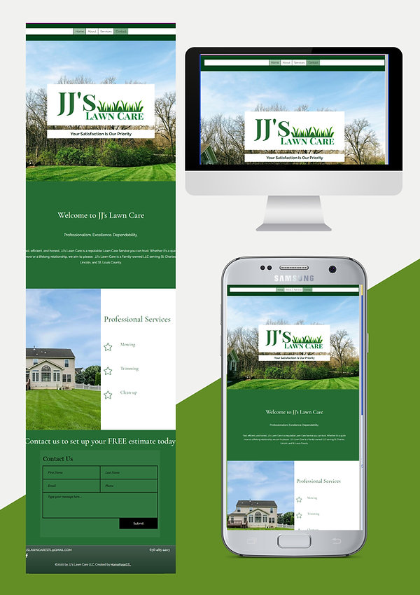 website design web design for lawn care