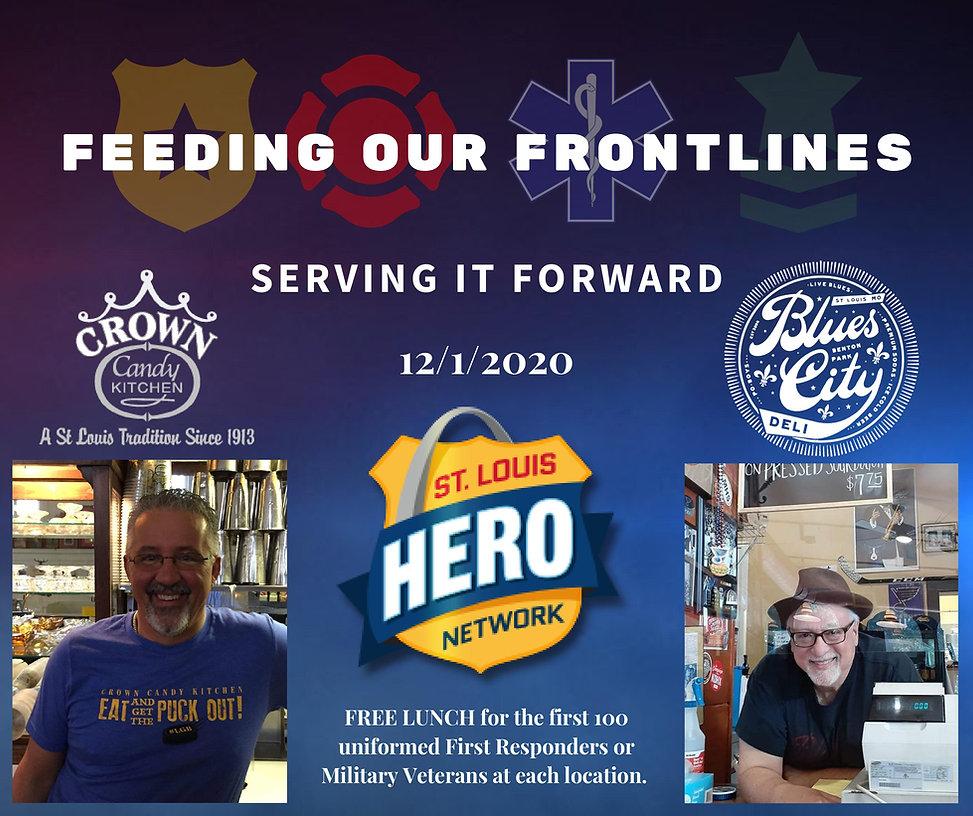 St. Louis Hero Network Feeding the Frontlines Fundraiser