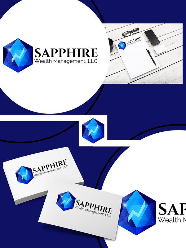 Logo Design for Sapphire Wealth Management, LLC