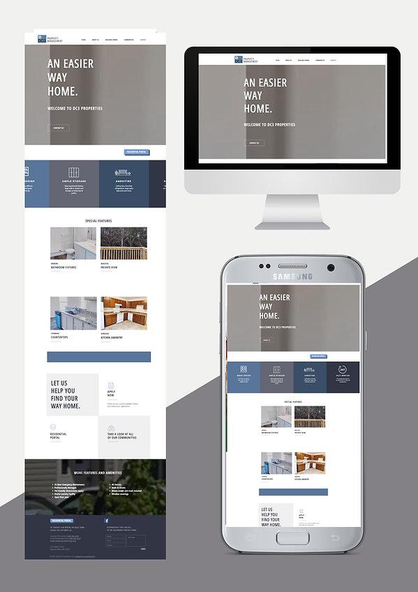 website design web design for property management