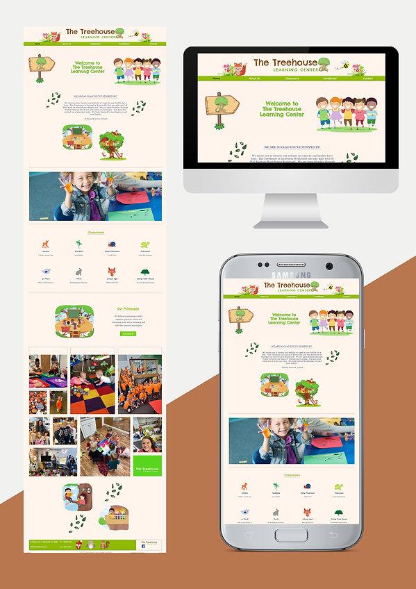Website Design for daycare