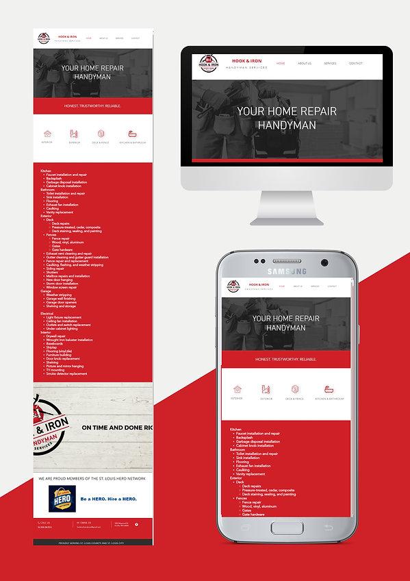 website design web design for handyman service